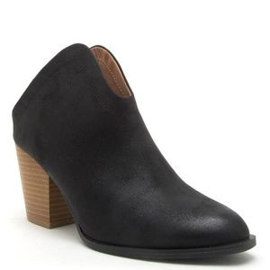 Shoes - Black Distressed Bootie